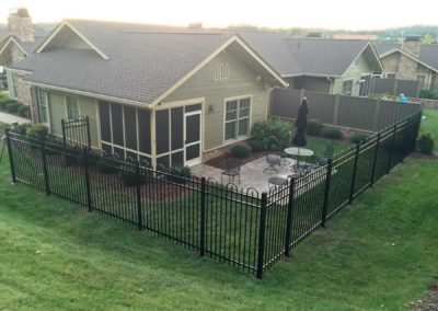 LCCA Patio Homes dog fence