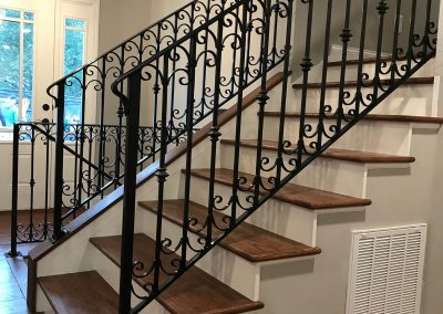 Wrought Iron Handrails