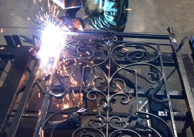 Custom Iron Gate Building