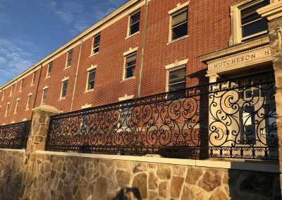 Custom Iron Handrails