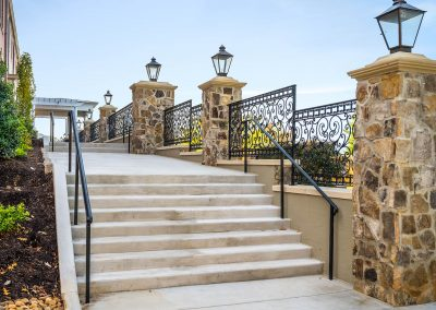 Exterior Ornamental Iron Railing