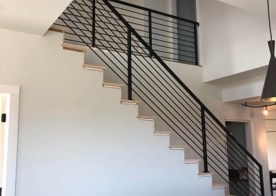 Interior Ornamental Iron Railing